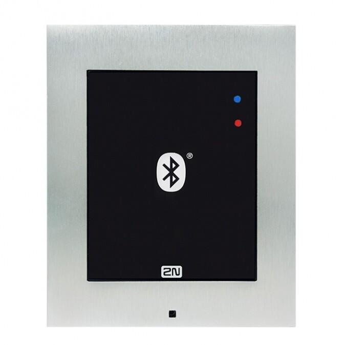 2N Access Unit Bluetooth, IP čtečka BLE, bez krycího rámečku