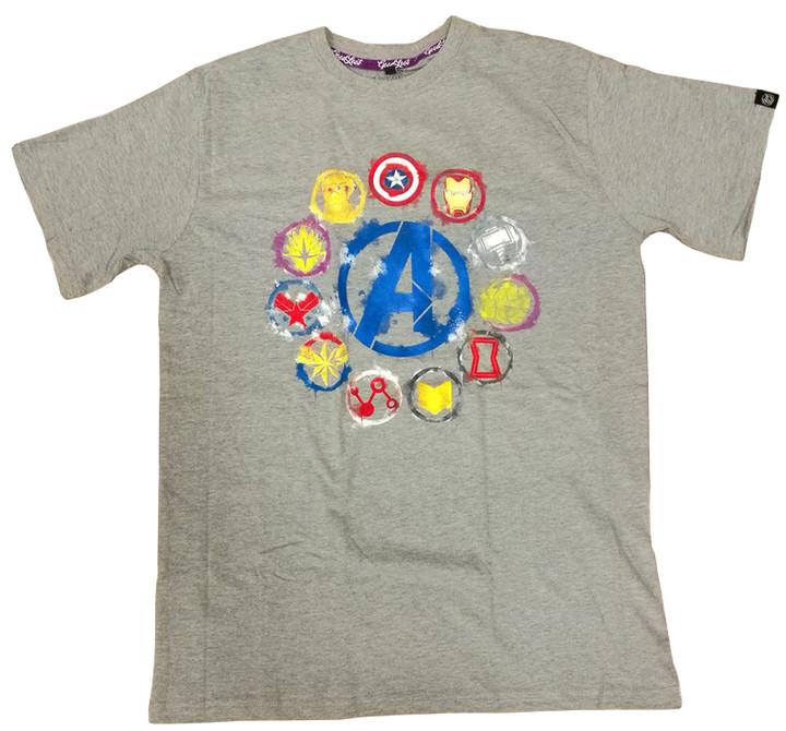 Tričko Avengers: Endgame - Icons (L)