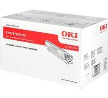 OKI 01279001, černý + LED žárovky Philips 8,5/60W E27 3 kusy v hodnotě 390 Kč