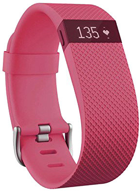 Fitbit Charge HR, S, růžová