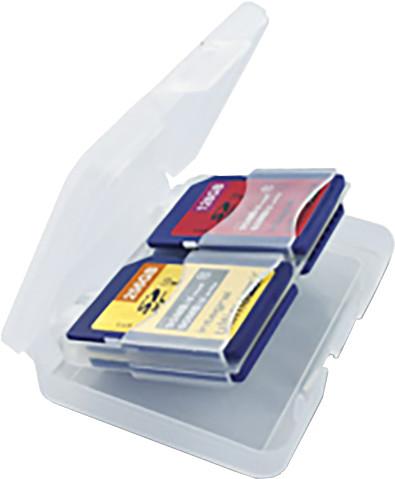 Integral - Pouzdro na paměťovou kartu - 4x SD/MicroSD