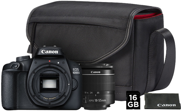Canon EOS 4000D + EF-S 18-55mm DC Value Up Kit