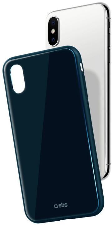 SBS Pouzdro pro iPhone iPhone X, modrá
