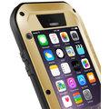 Love Mei Case iPhone 6 Three anti Straight version Golden