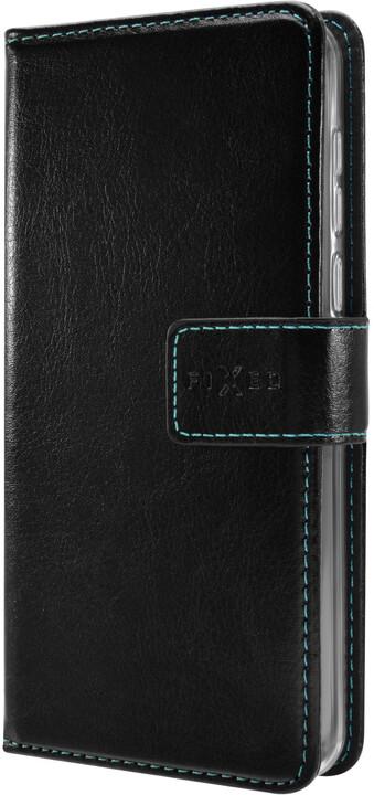 FIXED Opus pouzdro typu kniha pro Huawei Y7 Prime (2018), černé