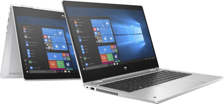 HP ProBook x360 435 G7, stříbrná