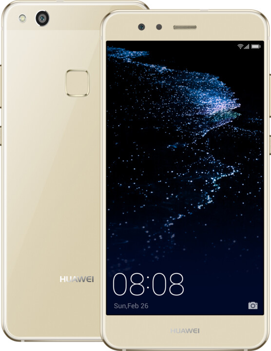 Huawei P10 Lite, Dual Sim, zlatá