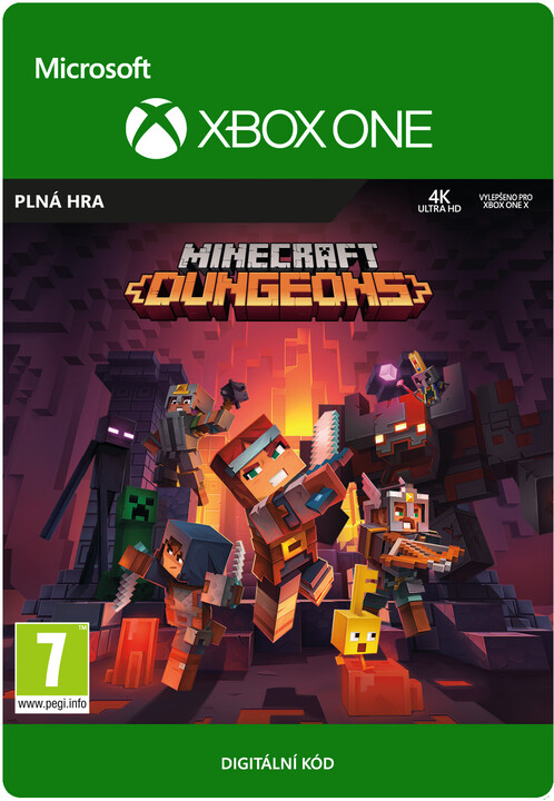 Minecraft Dungeons (Xbox ONE) - elektronicky