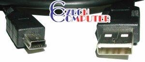 USB kabel A-Bmini 0,3m (5PM)