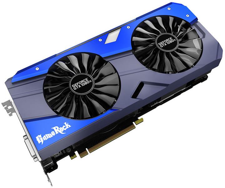 PALiT GeForce GTX 1080Ti GameRock Premium, 11GB GDDR5X