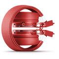 Urbanears Plattan 2 Bluetooth, červená