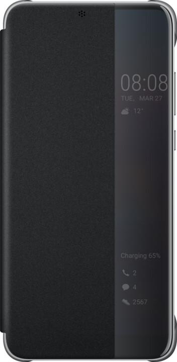 Huawei Original S-View Cover Pouzdro pro P20 Pro, černá