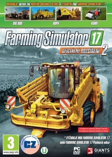 Farming Simulator 17 - Oficiální rozšíření 2 (PC)