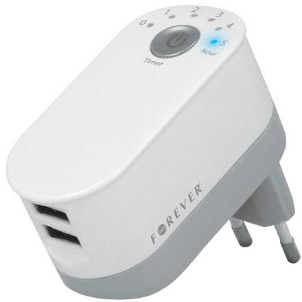 Forever nabíječka TFO 2 x USB 2200mAh + časovač