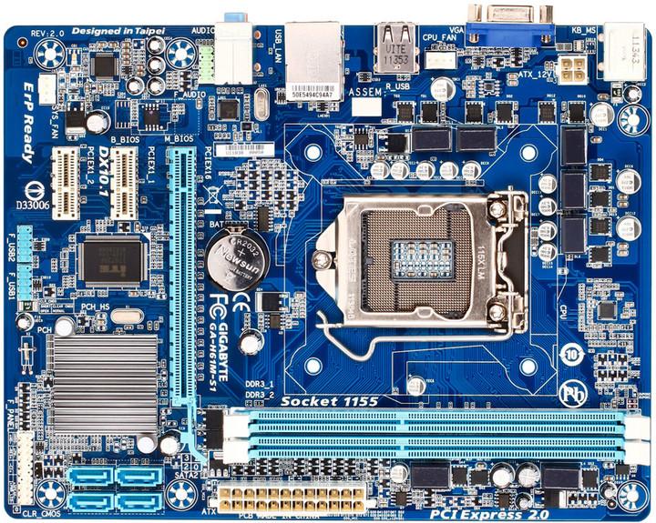 GIGABYTE GA-H61M-S1 - Intel H61