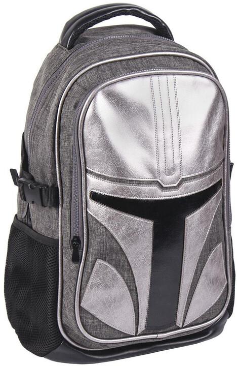Batoh Star Wars: The Mandalorian - Causal Fashion Travel Backapack