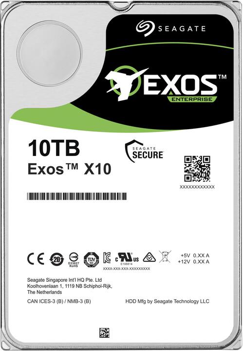 """Seagate Exos X10, 3,5"""" - 10TB"""