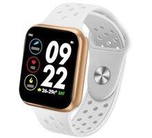 IMMAX chytré hodinky SW13 PRO, bílo-zlaté - HODIMM1071