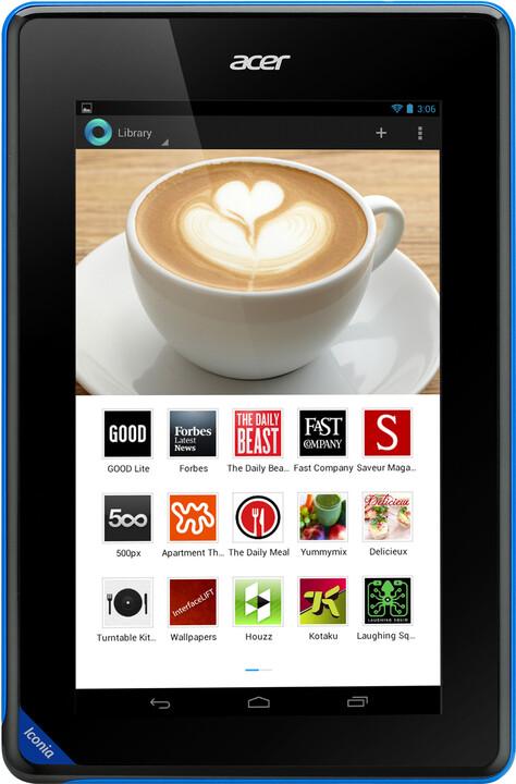 Acer Iconia Tab B1-A71, 8GB, černá