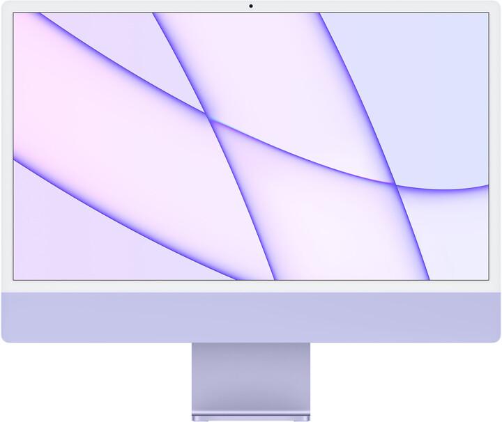 "Apple iMac 24"" 4,5K Retina M1/8GB/1TB/8-core GPU, fialová"