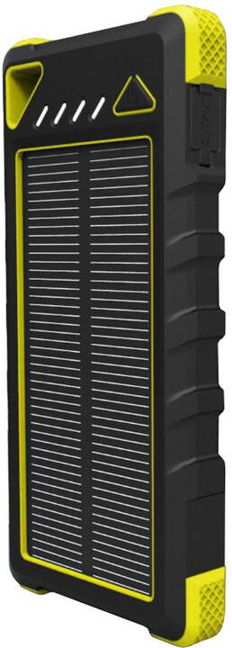 Viking solární power banka AKULA II 16000mAh, žlutá