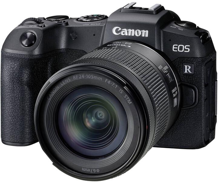 Canon EOS RP, černá + RF 24-105mm F4-7.1 IS STM