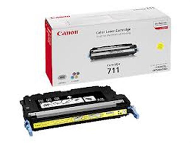 Canon CRG-711Y, žlutá