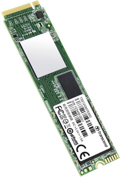 Transcend MTE850, M.2 - 512GB
