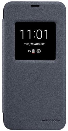 Nillkin Sparkle S-View pouzdro pro LG Q6, Black