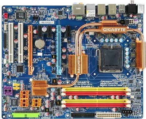 Gigabyte GA-EP35-DS4 - Intel P35
