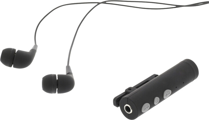 Sweex bezdrátová sluchátka s Bluetooth adaptérem, černá