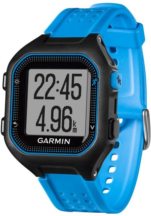 GARMIN Forerunner 25 HR Optic, XL, modrá/černá