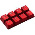 HyperX FPS & MOBA Gaming Keycaps, Cherry MX, červená