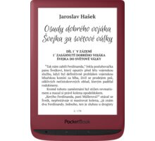 PocketBook Touch Lux 5, Ruby Red - PB628-R-WW