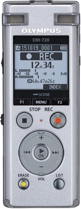 Olympus DM-720, stříbrná