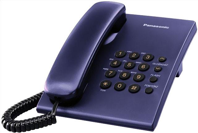 Panasonic KX-TS500FXC, modrá