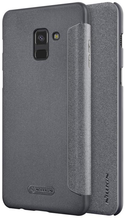 Nillkin Sparkle Folio pouzdro pro Samsung A730 Galaxy A8 Plus 2018, Black