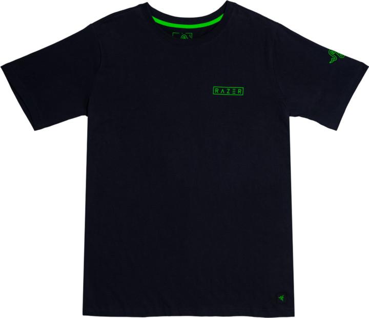 Tričko Razer Lifestyle Boxed, černé (L)