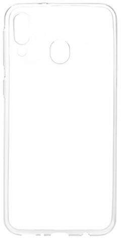 EPICO pružný plastový kryt pro Samsung Galaxy M20 RONNY GLOSS, bílá transparentní