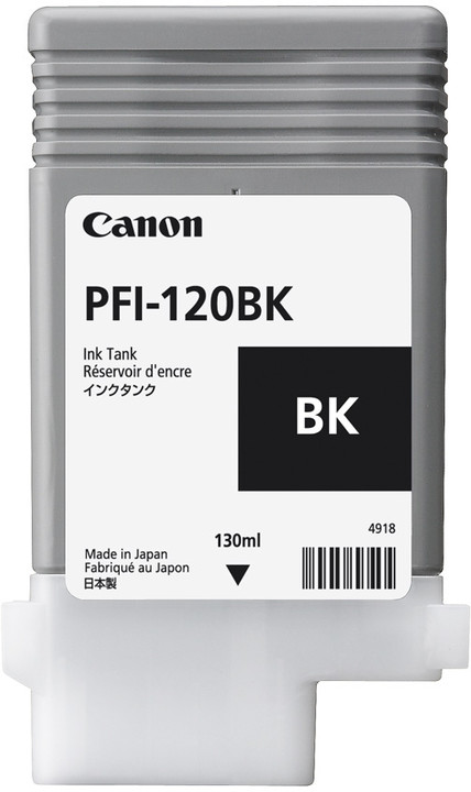 Canon PFI-120BK, černá