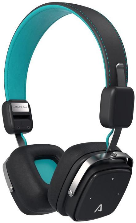 LAMAX Beat Elite E-1, černo-tyrkysová