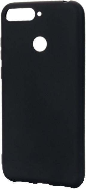 EPICO pružný plastový kryt pro Honor 7A SILK MATT, černý