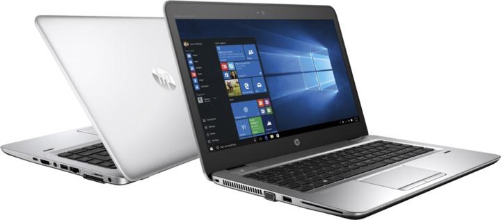 HP EliteBook 745 G4, stříbrná