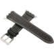 ESES kožený řemínek 38mm pro Apple Watch, černá