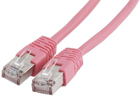 Gembird Cablexpert Patch kabel FTP CAT6, stíněný - 1m - růžová