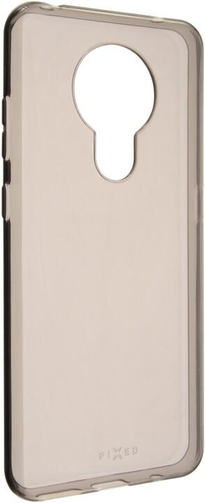 FIXED TPU gelové pouzdro Slim pro Nokia 5.3, 0.6 mm, kouřová