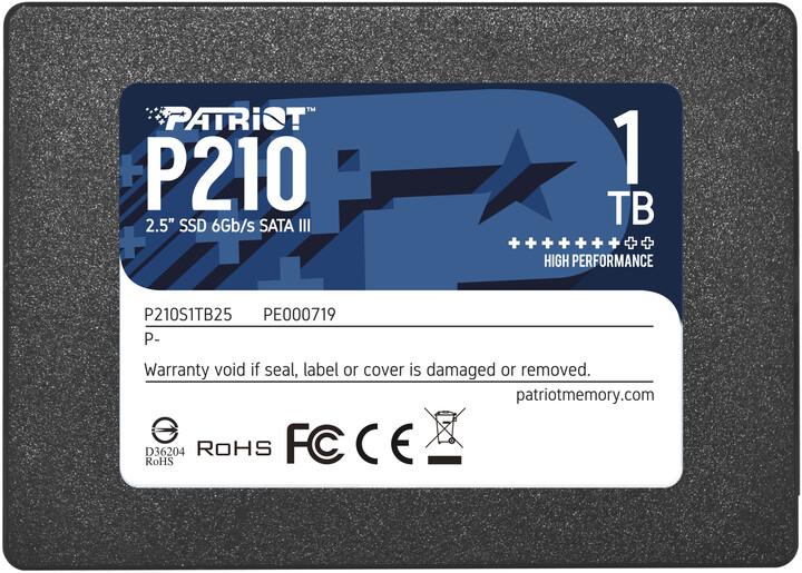 """Patriot P210, 2,5"""" - 1TB"""