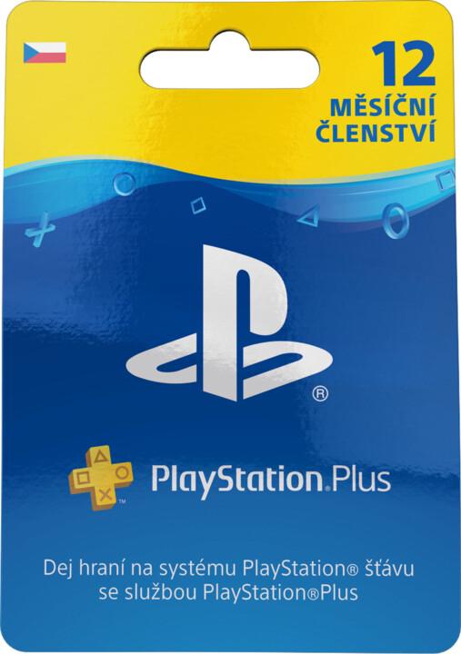 Playstation Plus Card - 12 měsíců