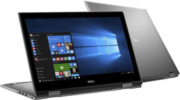 Dell Inspiron 15 (5568) Touch, šedá