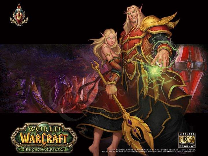 Compad World of Warcraft - Blood Elf
